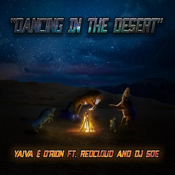 Cover art for Dancing in the Desert
